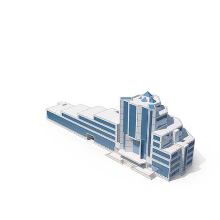 Sketch de edificio de oficinas