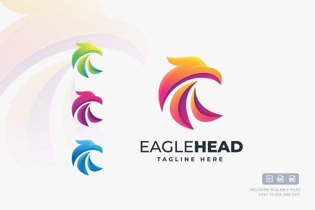 Eagle Head - Logo design template