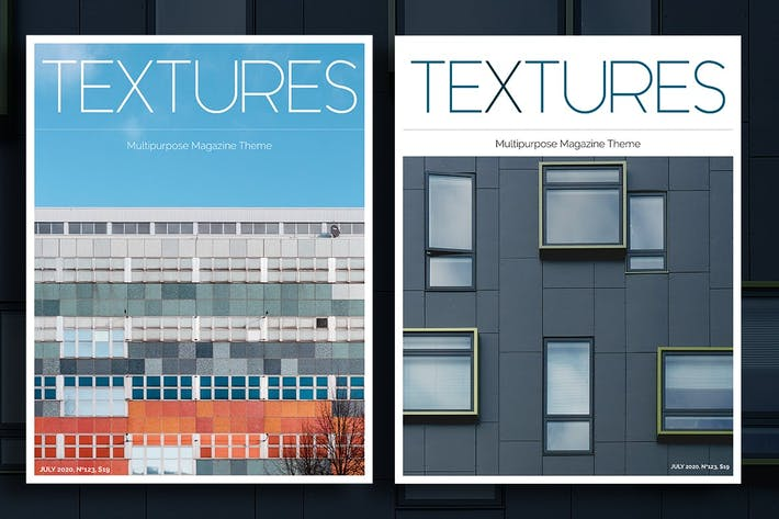 Thumbnail for Textures Magazine