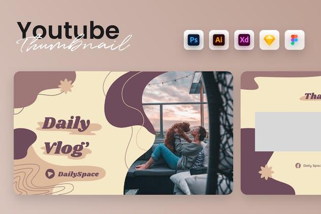 Youtube Thumbnail Banner Template