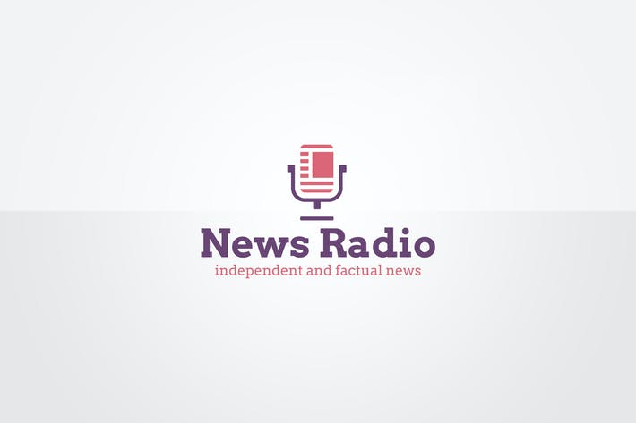 Thumbnail for News Radio Logo Template
