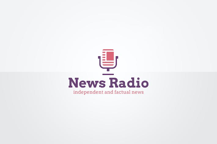 News Radio Logo Template by floringheorghe on Envato Elements