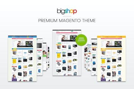 Gala BigShop Reponsive Magento Thème CE 1.9