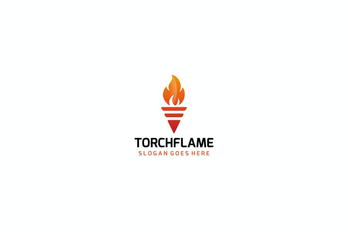 Thumbnail for Torch Flame Logo