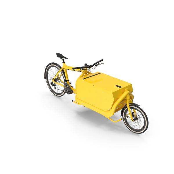 Cargo Bike with Metal Box