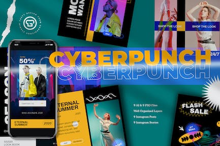 Cyber Punch Insta Pack
