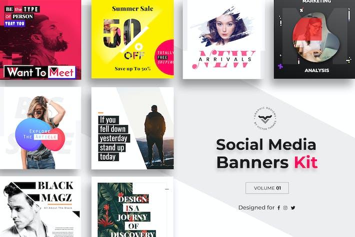 Thumbnail for Social Media Kit Volume I