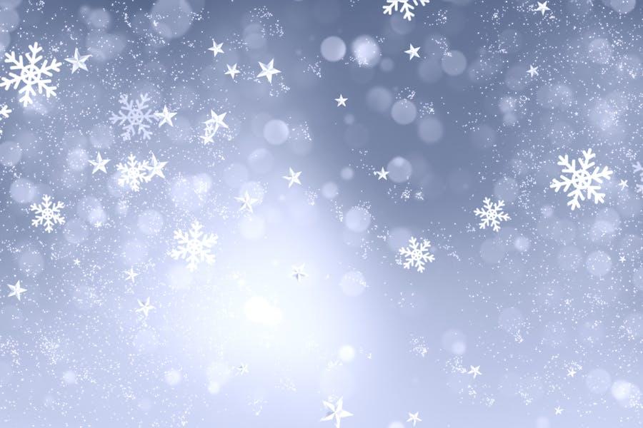 Christmas Snowflakes Glitters 1