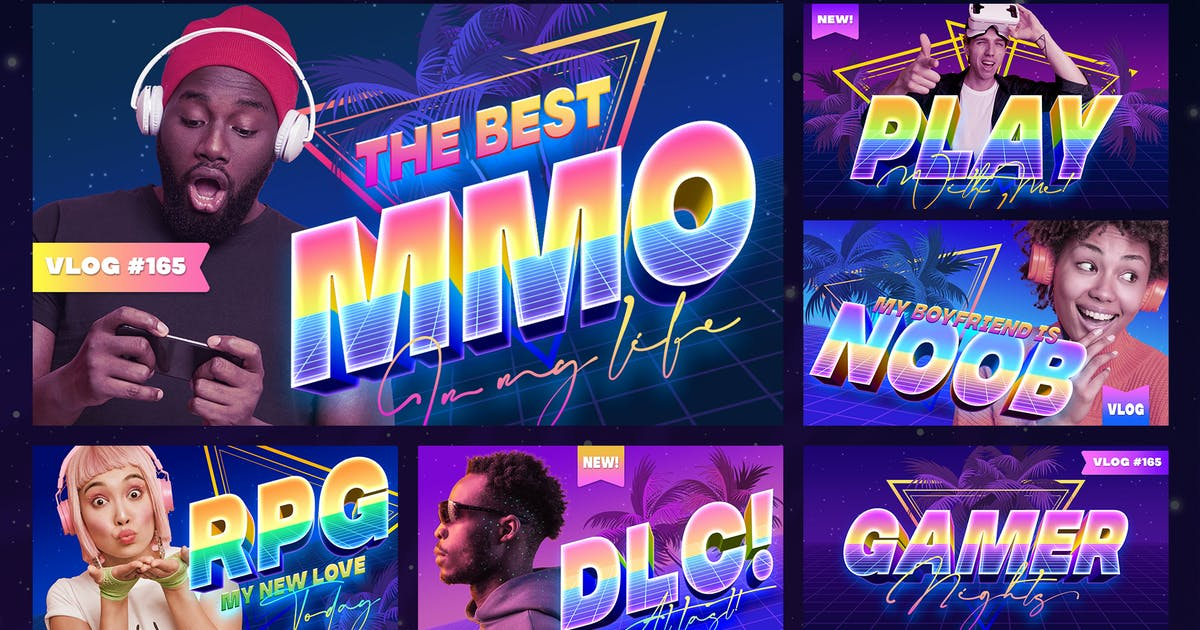 Download Gamer YouTube Thumbnails by Sko4