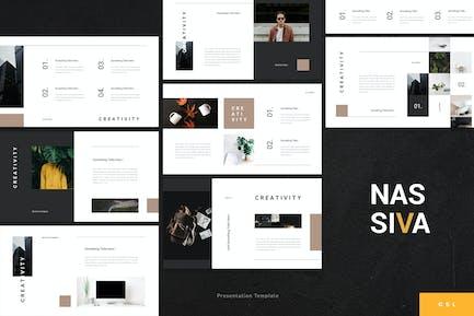 Nassiva - Creative Google Slides Template
