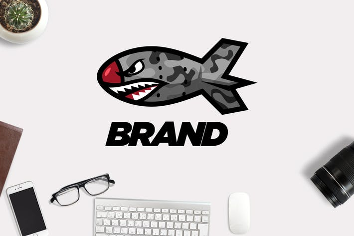 Thumbnail for Shark Bomb Logo