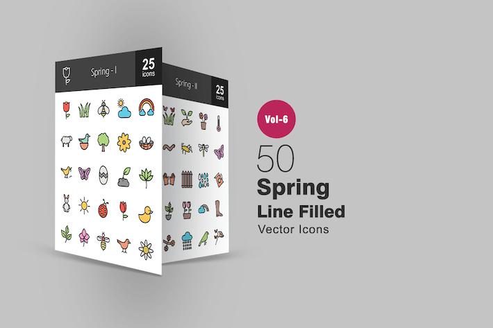 Thumbnail for 50 Frühlings-SIcons