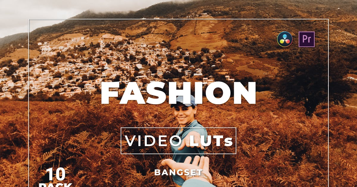 Download Bangset Fashion Pack 10 Video LUTs by Bangset