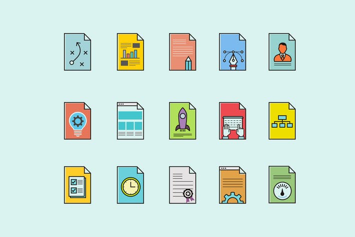 Thumbnail for 15 Design Workflow Icons