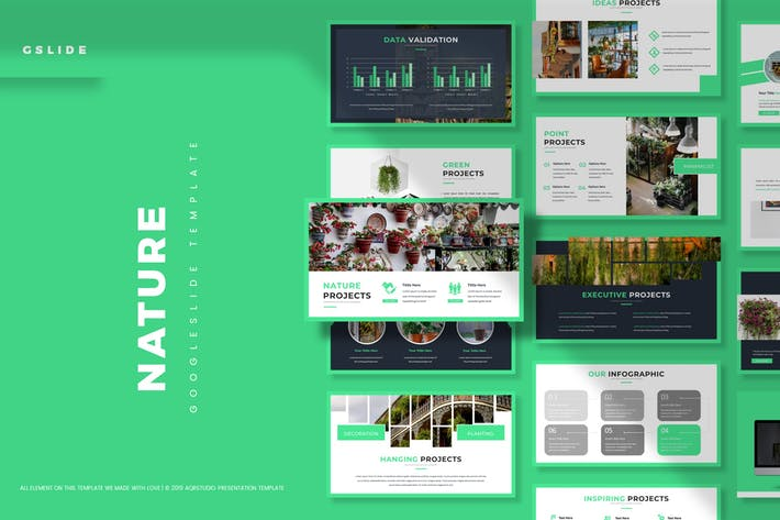 Thumbnail for Nature - Google Slides Template