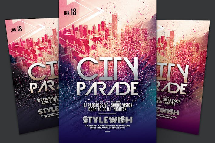 Thumbnail for City Parade Flyer