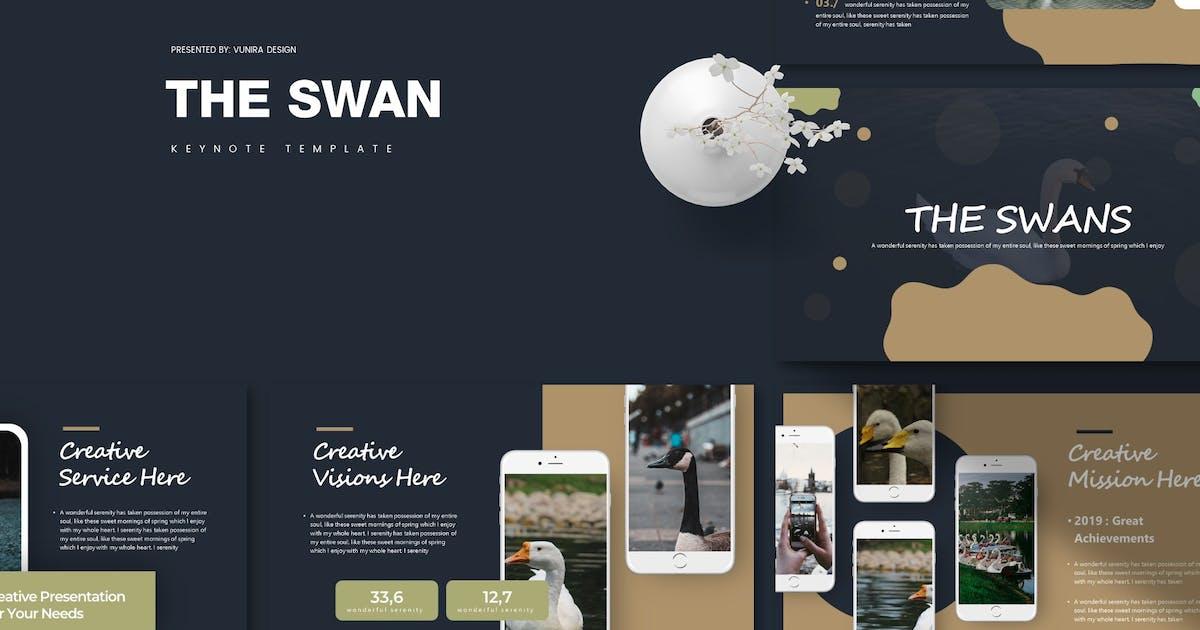 Download The Swan   Keynote Template by Vunira