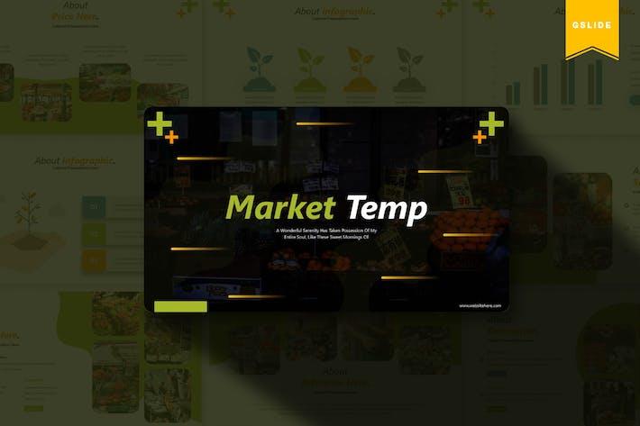 Thumbnail for Market   Google Slides Template