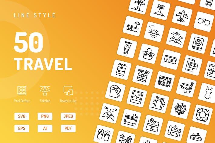 Icons für die Reiseleitung