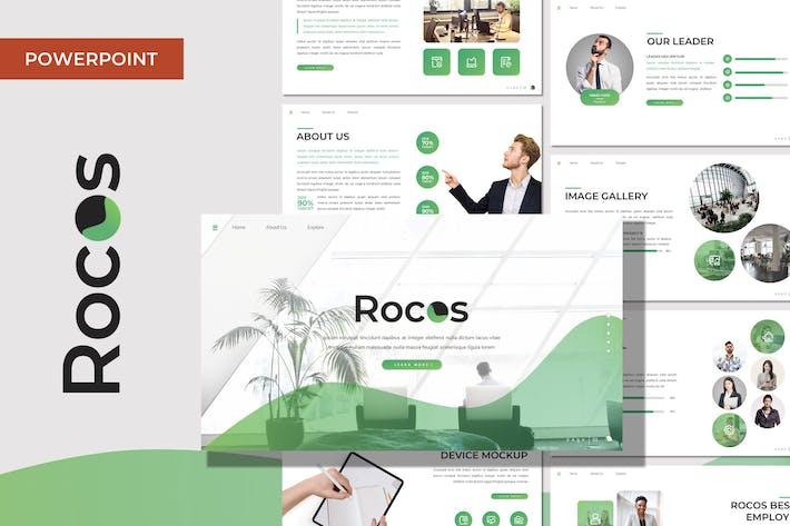 Rocos - Многоцелевой Шаблон Powerpoint