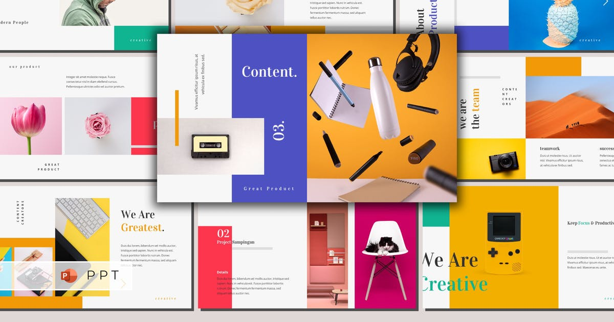 Download PRODUCTIX - Creative Powerpoint Template by inipagi