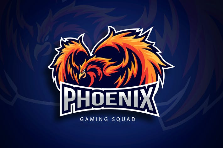 Thumbnail for Phoenix Sport And Esport Logo Vector Template