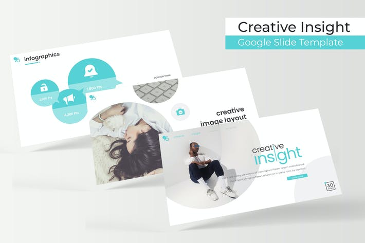 Thumbnail for Creativo Insight - Plantilla de Presentación de Google