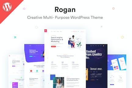 Rogan - Creative Multipurpose WordPress Theme