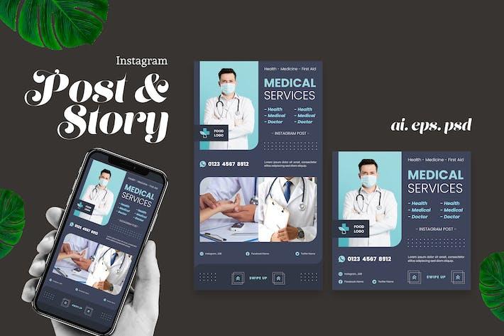 Medizinischer Dienst Instagram Story Post