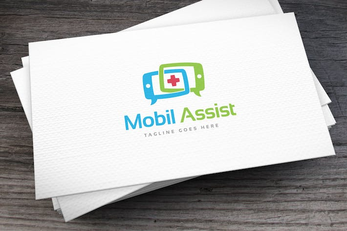 Thumbnail for Mobil Assist Logo Template