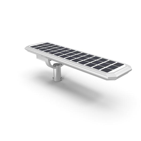 LED-Straßenlaterne mit Solarpanel
