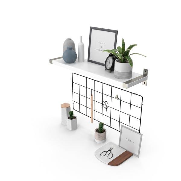 Designer Shelf Set