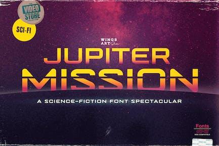 Misión de Júpiter: Una fuente de ciencia ficción
