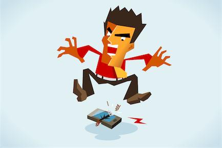 angry with bad call