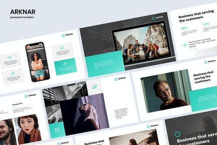 ARKNAR - Simple & Professional Powerpoint
