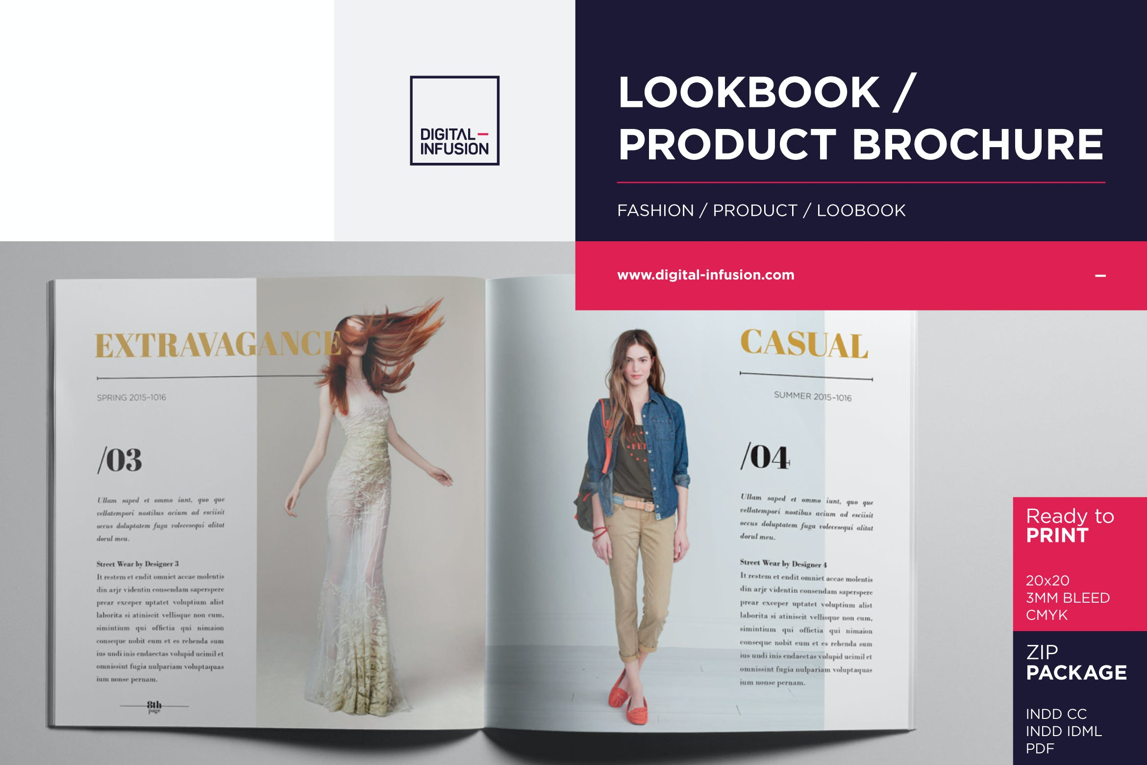 Lookbook Product Catalog By Digital Infusion On Envato Elements