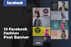 Facebook Fashion Post Banners Ads