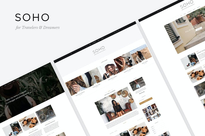 Thumbnail for Soho - Blog Template For Travelers & Dreamers