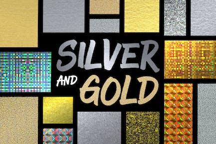 Estilos de plata y oro