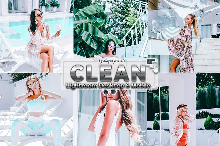 Thumbnail for Clean white Portrait Lightroom Presets