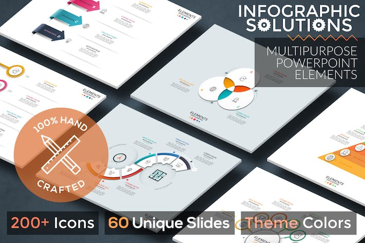 Thumbnail for Infographic Solutions. P2. Powerpoint Template