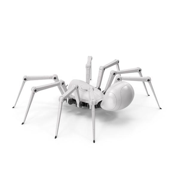 Roboter Spider Weiß