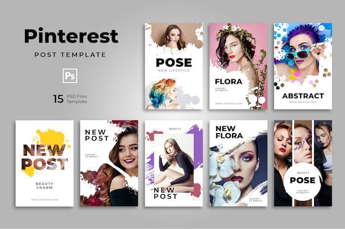 Thumbnail for Urban Fashion Pinterest Templates