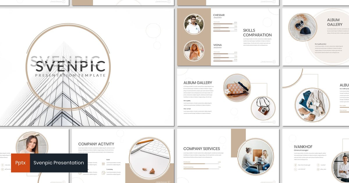 Download Svenpic - Powerpoint Template by inspirasign