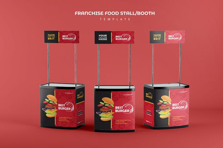 Thumbnail for Franchise Food Stand Booth