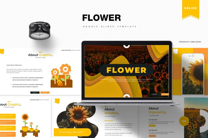 Thumbnail for Flower | Google Slides Template