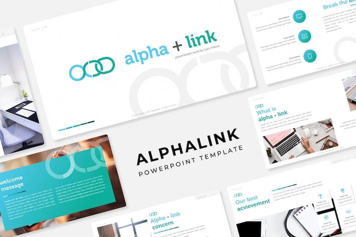 Thumbnail for Alphalink - Powerpoint Template