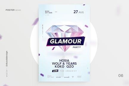 Glamour Club Flyer