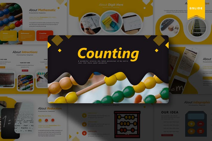 Thumbnail for Counting | Google Slides Template