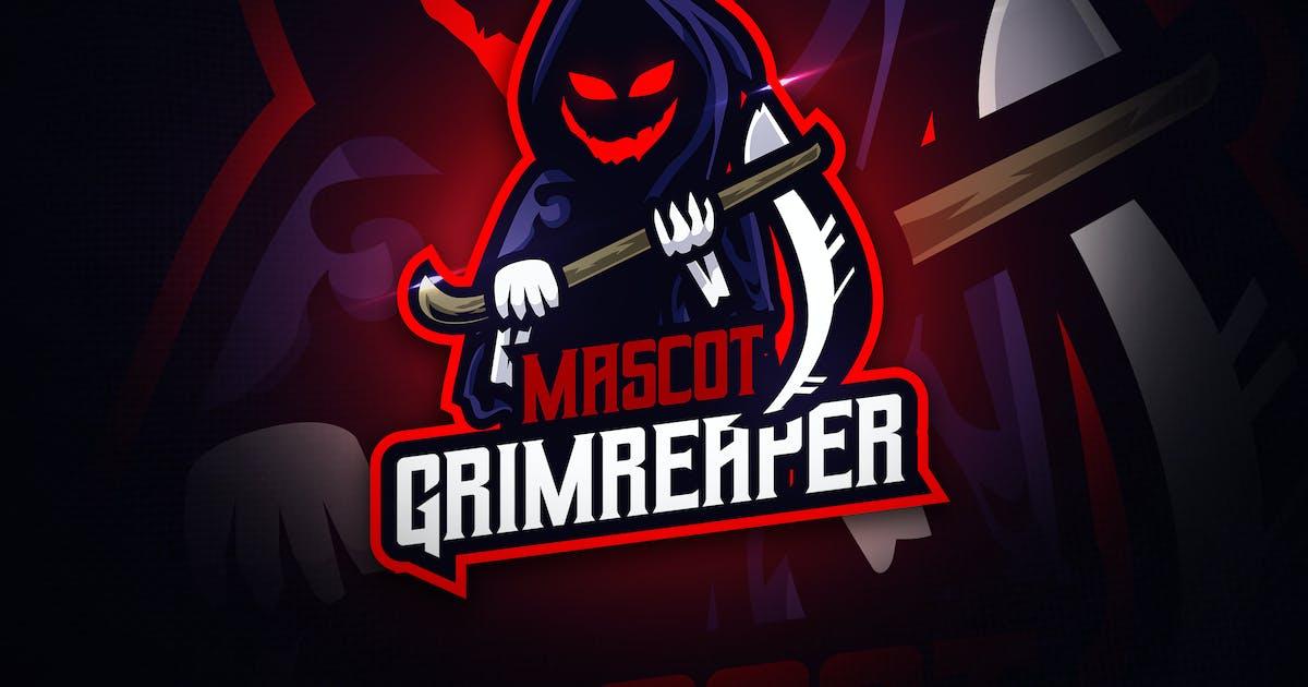 Greamreaper - Mascot & Esport Logo by aqrstudio